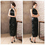 Robe Chinoise <br> Dos Nu Noire / 3XL