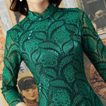 Robe Chinoise Tunique Traditionnelle col mao