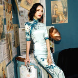 Robe d'Hôtesse Chinoise