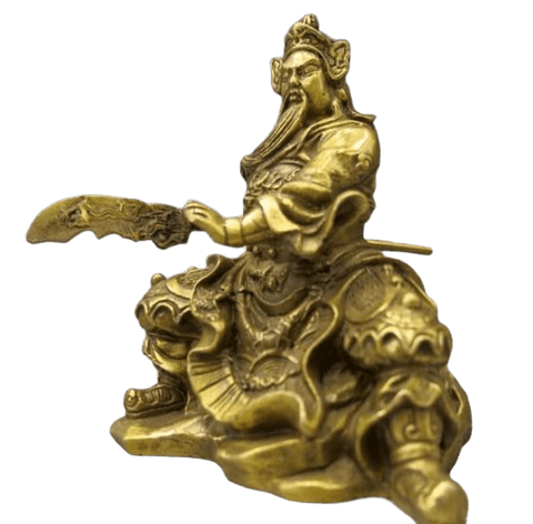 Statue Chinoise <br> Guerrier