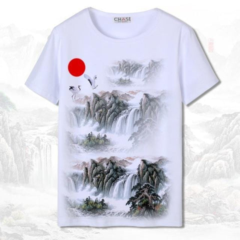 T-shirt Chinois <br> Cascade L