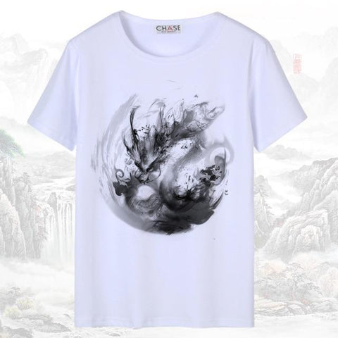 T-shirt Chinois <br> Dragon M