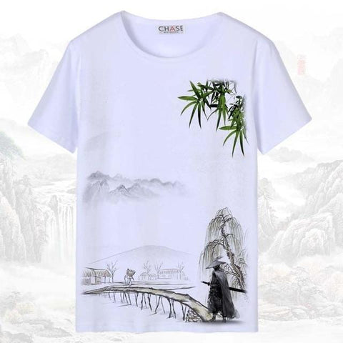 T-shirt Chinois <br> Guerrier S