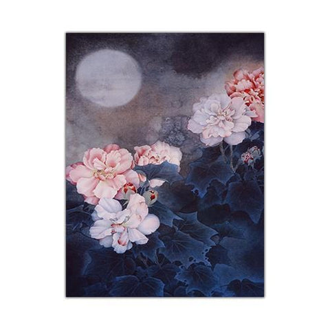 Tableau Chinois <br> Lune 21X30CM / 1