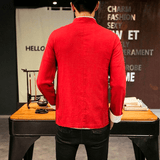 Veste Chinoise Homme Mode dos