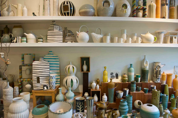 Moye Thompson Ceramics Santa Monica Canyon Pottery Studio  - handmade ceramic gifts for newlyweds