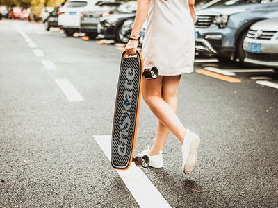 Why Electric Skateboard Equipped With Handle?