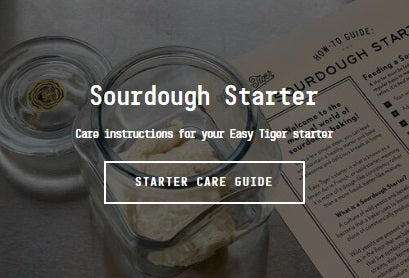 Easy Tiger Sourdough Starter