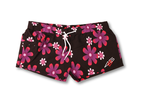 PINK FLOWERS SHORT