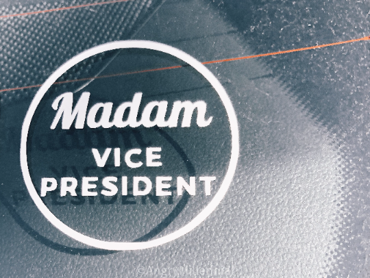 Madam Vice President Vinyl Decal