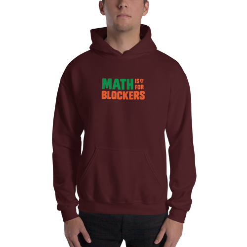 Math is for Blockers. Hoodie