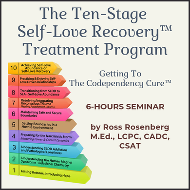 The Ten-Stage Self-Love Recovery™ Treatment Program: Getting To The Codependency Cure™ (Version 2) (5.7 Hours) (USB)