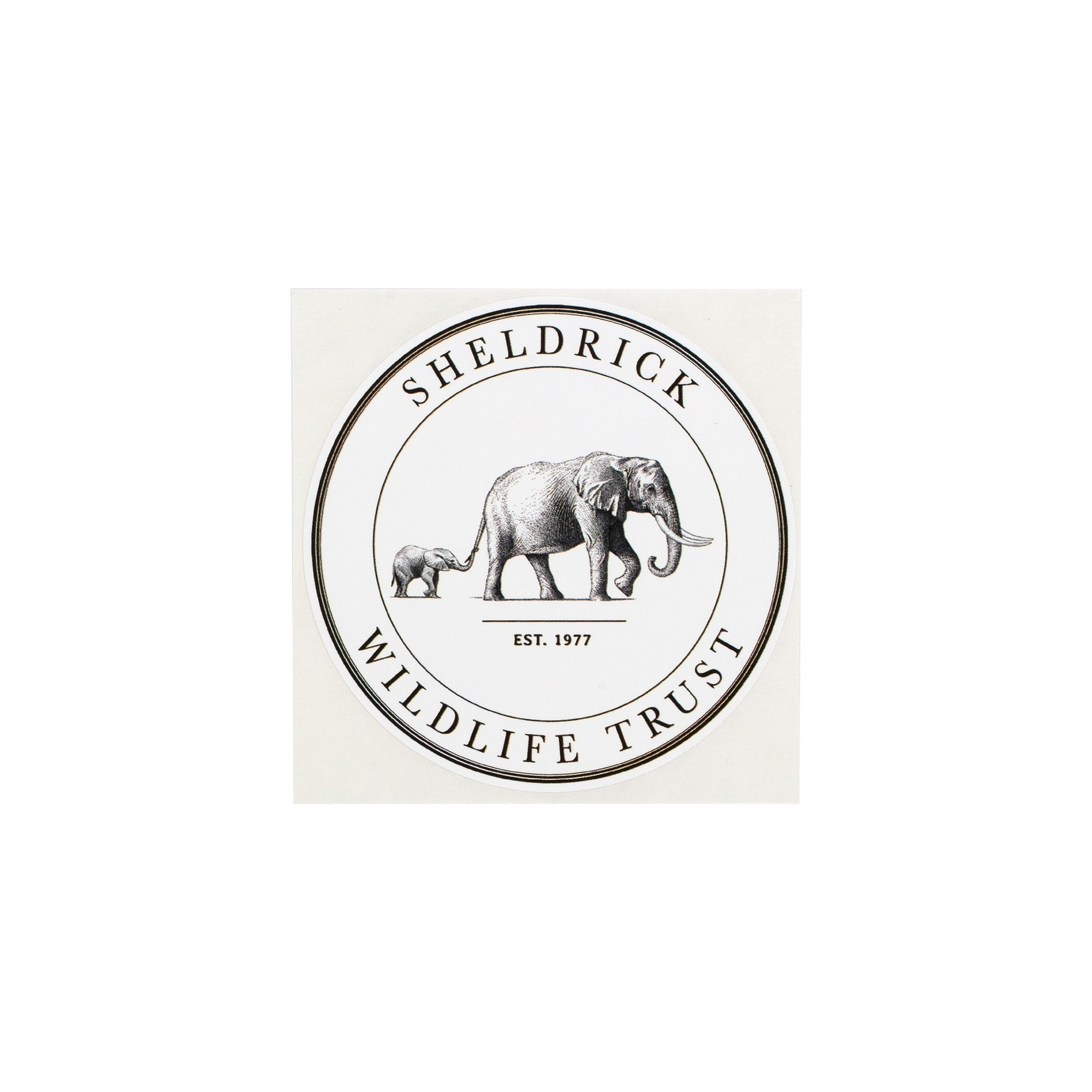 Sheldrick Wildlife Trust Sticker- pack of 3