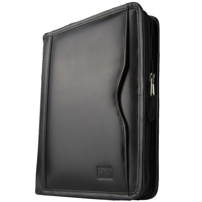 Marlow Black A5 Zipped Binder