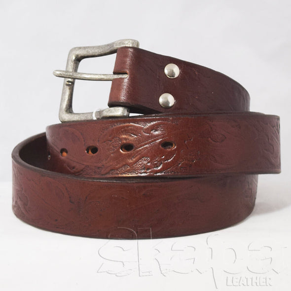 1st Run - Huntsman's Maple Leaf Buckled Belt