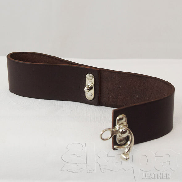 Basic Mug Strap in Black/Brown