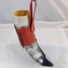 Limited Edition - Red Leather Holder w/ Drinking Horn