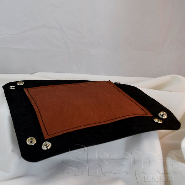 Leather Dice/Catch-All Tray