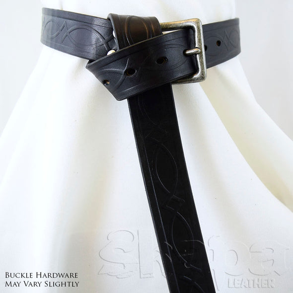"1.5"" Kent Celtic Buckled Wrap Belt"
