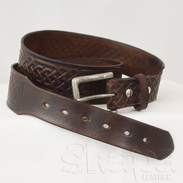 The Marshal's Tapered Buckled Belt