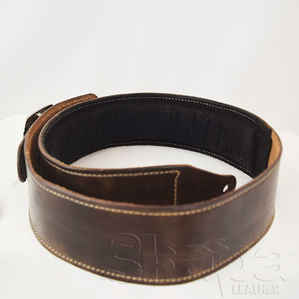 Limited Edition- Chocolate Padded Guitar Strap