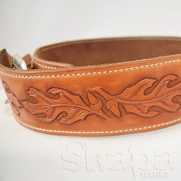 Limited Edition- Hand Tooled and Padded Guitar Strap