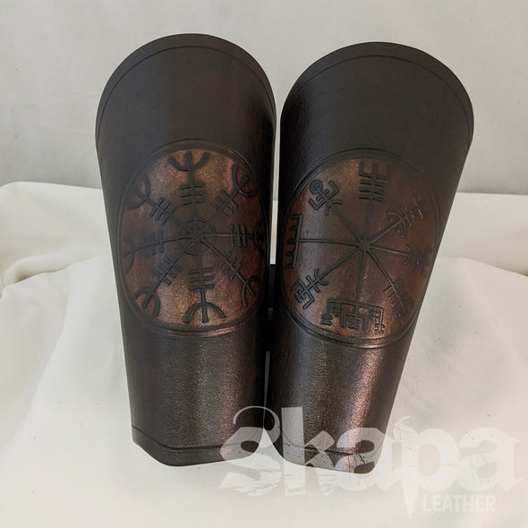 Berserker's Leather Bracers