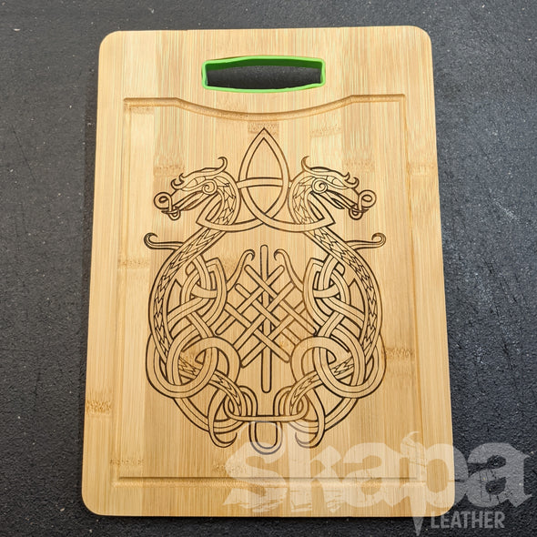 Bamboo Cutting / Serving Board w/ Handle