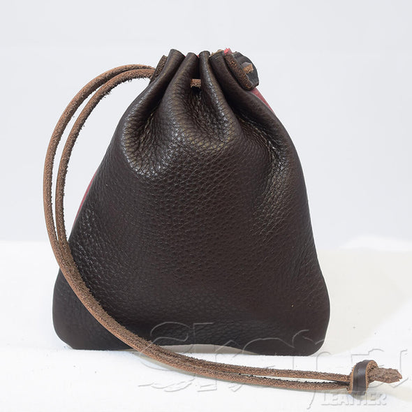 Leather Drawstring Pouch – 14+ Colors