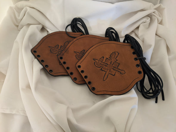 SPECIAL BUY- Small Crossed Weapons Bracers
