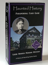 Load image into Gallery viewer, Haunted History Lizzie Borden Paranormal Card Game