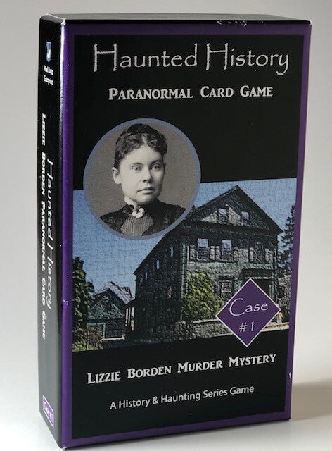 Haunted History Lizzie Borden Paranormal Card Game