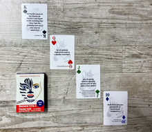 Load image into Gallery viewer, Autoimmune Encephalitis Trivia Playing Cards