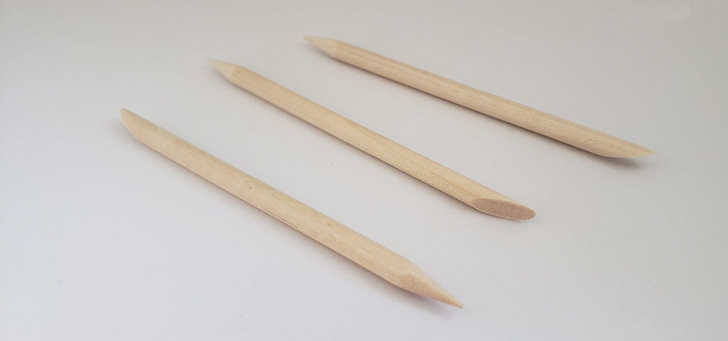 Wooden Cleaning Sticks - 5 or 10 pack