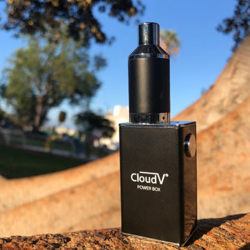 CloudV Powerbox Portable Wax Vaporizer (taxes extra)