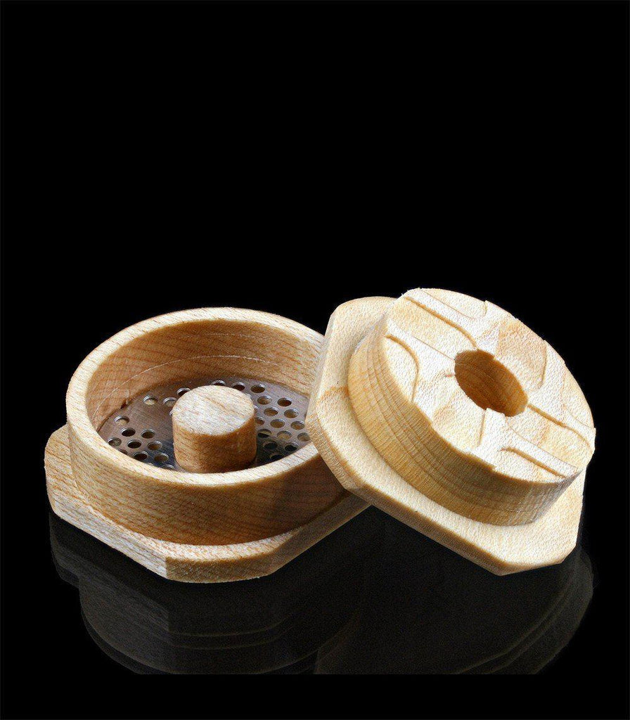 Magic Flight Finishing Grinder Wood (taxes extra) - Vaporizers.ca - 1