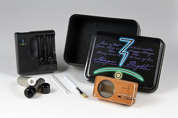 Magic-Flight Launch Box Vaporizer CHERRY Extras (taxes extra)