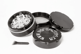 "SharpStone Clear Top 4 Piece Grinder 2.5"" - Vaporizers.ca - 6"