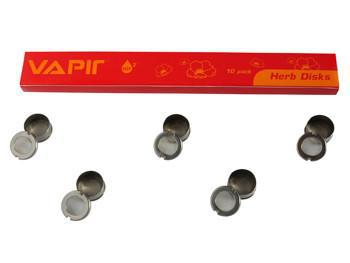 Vapir One Partial Solid and All Mesh Disks - 6 Pack - Vaporizers.ca