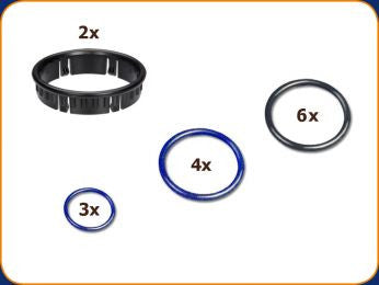Volcano Solid Valve O Ring Set