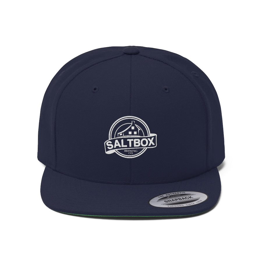 Saltbox Unisex Flat Bill Hat