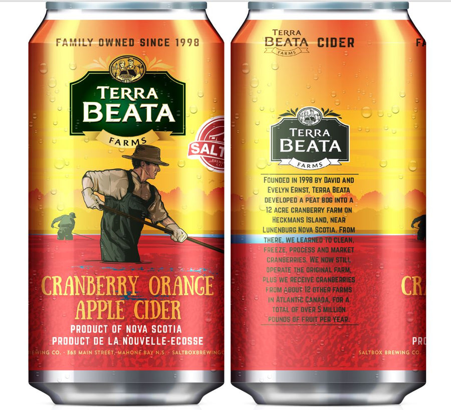 Terra Beata Cranberry Orange Cider 473ml