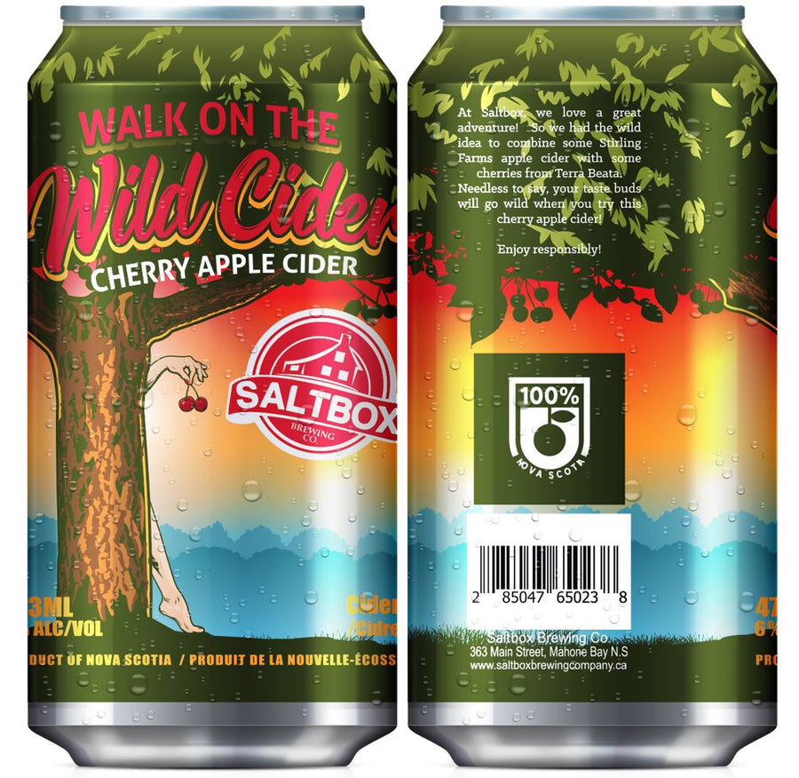 Walk on the Wild Cider - Cherry Cider 473ml