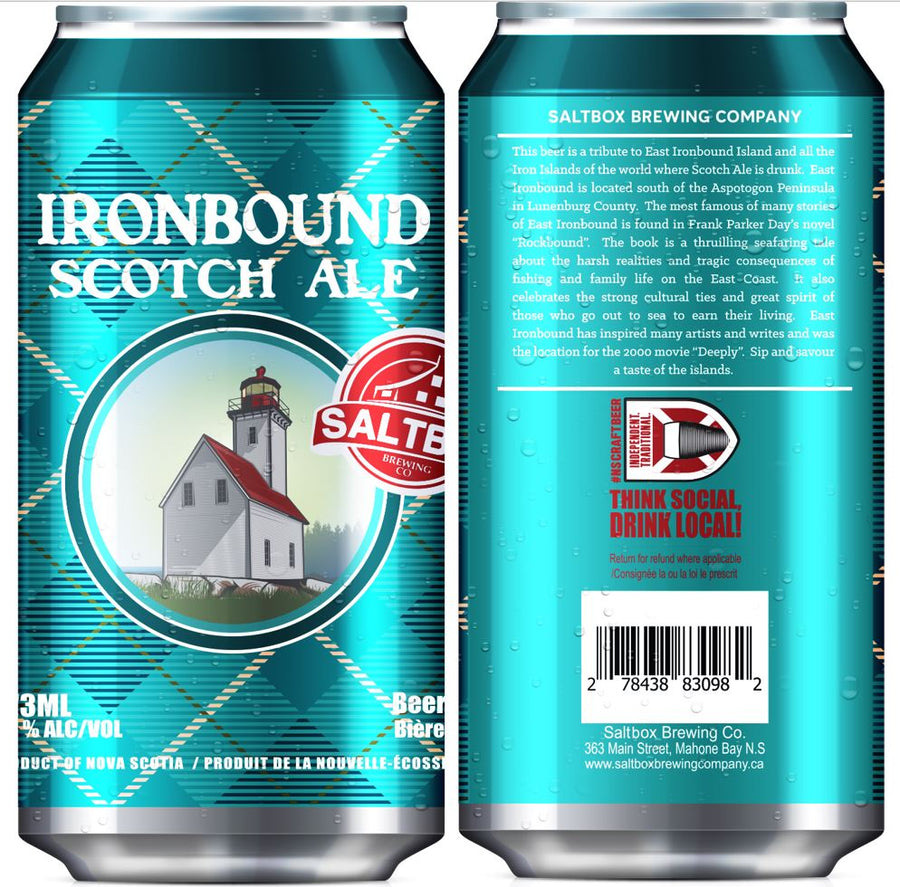 Ironbound Scotch Ale 473ml