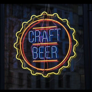 Craft Beer Neon Sign