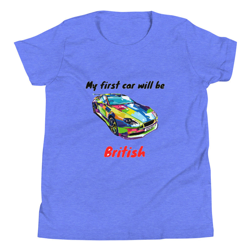 My First Car Will Be British