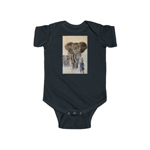 Imagine Elephant Infant Fine Jersey Bodysuit