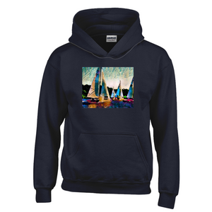 Regatta Navy Hoodies (Youth Sizes)