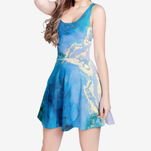 Load image into Gallery viewer, Lighthearted Women's Sleeveless Midi Casual Flared Dress