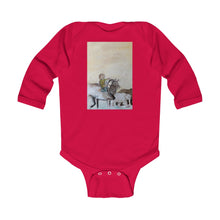 Laden Sie das Bild in den Galerie-Viewer, Imagine Reindeer & Friends Infant Long Sleeve Bodysuit